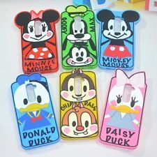 Lovely 3D Minnie & Disney Soft Silicone Case Cover For LG G2 D802 Mobile Phone