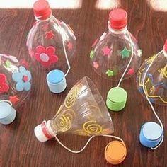 Spel diy thanksgiving crafts for kids - Kids Crafts Summer Crafts, Diy Crafts For Kids, Fun Crafts, Craft Ideas, Kids Diy, Diy Ideas, Ideas Para, Game Ideas, Plastic Bottle Crafts