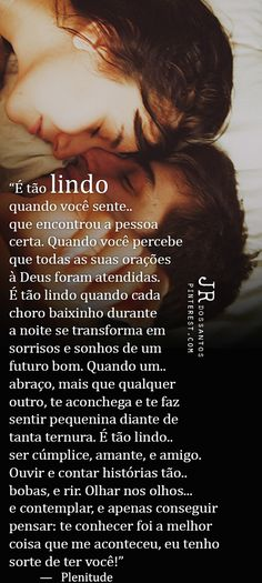 Ti amor  que nosso casamento  dure Love Qutoes, Sad Life, Romance And Love, Love You More Than, Texts, Funny Quotes, Romantic, Messages, Thoughts