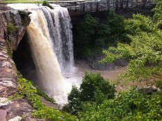 Noccalula Falls in Gadsden, AL