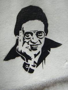 Hector Lavoe Stencil