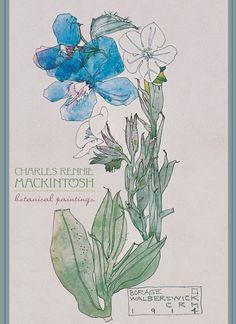 Charles Rennie Mackintosh: Botanical Paintings Boxed Notecards
