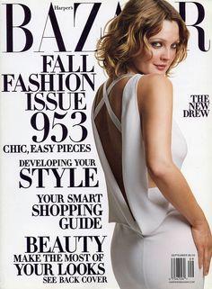 Bazaar  Drew Barrymore