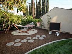 Stepping Stone Hopscotch Family-Friendly Outdoor Spaces   Outdoor Spaces - Patio Ideas, Decks & Gardens   HGTV