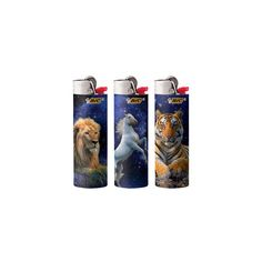 BIC Lighters - Animal Series LCWT1AL ❤ liked on Polyvore featuring home, home improvement, fillers, lighters, smokes and accessories