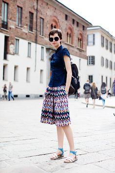 ser yo ..., peone: En la calle ... .Piazza del Duomo, Milán | ...