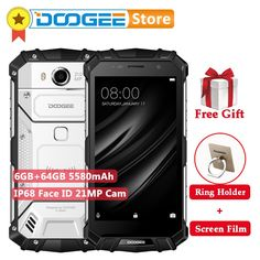 Original DOOGEE S60 5.2 inch FHD Screen RAM 6GB ROM 64GB MTK Helio P25 Octa Core 2.5GHz 4G LTE Cellphone 21.0MP 5580mAh Battery  Price: 345.45 & FREE Shipping  #computers #shopping #electronics #home #garden #LED #mobiles #rc #security #toys #bargain #coolstuff |#headphones #bluetooth #gifts #xmas #happybirthday #vr Screen Film, Face Id, Mobile Phones, Free Shipping, The Originals