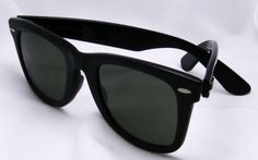 From the 80's:  Ray-Ban Wayfarer sunglasses