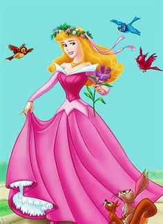 Aurora -- because she won't believe me if I just tell her that her purple stuffed rose will work just fine with her costume. Disney Pixar, Disney Cartoon Characters, Disney Nerd, Disney Cartoons, Disney Animation, Disney Love, Walt Disney, Disney Princess Jasmine, Disney Princess Pictures