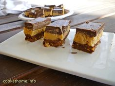 This recipe results in my ultimate chocolate peanut butter slice - a combination of 3 other recipes, but still so easy to make, and gluten-free! Cooking Chocolate, Chocolate Icing, Chocolate Peanuts, Chocolate Peanut Butter, Peanut Butter Slice, Gluten Free Peanut Butter, Peanut Butter Recipes, Cook At Home, Other Recipes