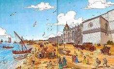 Sabes como era Lisboa antes do terramoto de 1755? Foi um dos mais devastadores terramotos da história da humanidade e mudou a capital para sempre. Vê como era Lisboa antes do terramoto.