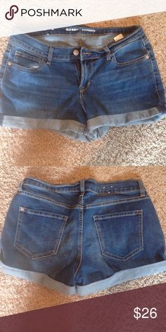 Boyfriend shorts Excellent used condition Old Navy Shorts