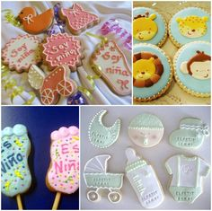 galletas decoradas para baby shower