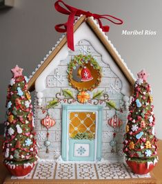 1 million+ Stunning Free Images to Use Anywhere Gingerbread Village, Gingerbread Decorations, Christmas Gingerbread House, Christmas Cookies, Christmas Decorations, Holiday Decor, Christmas Baking, Christmas Time, Christmas Crafts