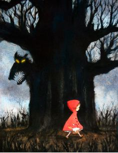 Little Red Riding Hood ~ Lee White