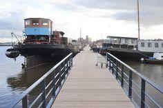 Water, Stadsdeel West - Houthaven houseboat living