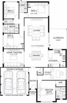Tribute, Single Storey Floor Plan, Wa