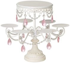 White and Pink Beaded Multi Cake Stand Universal Lighting and Decor http://www.amazon.com/dp/B004UG50YG/ref=cm_sw_r_pi_dp_Vr9Jtb081HXY203T