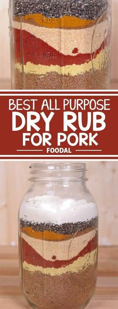 Best All Purpose Dry Rub for Pork Do love the taste of smoked and grilled pork? But yours always turns out dry? The secret to juicy and meaty ribs and Boston butts lies in the perfect dry rub. Pork Dry Rubs, Bbq Dry Rub, Pork Rub, Steak Rubs, Smoker Recipes, Grilling Recipes, Cooking Recipes, Rib Recipes, Cooking Tips