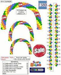 Imagem relacionada Balloon Gate, Balloon Arch Diy, Balloon Columns, Balloon Garland, Ballon Arch, Birthday Balloon Decorations, Birthday Balloons, Baby Shower Decorations, Engagement Balloons