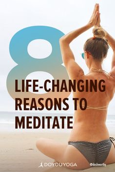 8 Life-Changing Reasons to Meditate Meditation For Health, Meditation For Anxiety, Easy Meditation, Meditation For Beginners, Meditation Benefits, Meditation Techniques, Meditation Practices, Yoga Benefits, Meditation Space