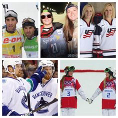 I'm a TOTAL sucker for sibling sports in Sochi