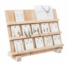 Jewelry Organizer Stand, Jewelry Stand, Jewelry Organization, Craft Stall Display, Craft Booth Displays, Wooden Jewelry Display, Jewellery Display, Wood Display, Jewelry Booth