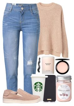 """#25"" by oneandonlyfashion ❤ liked on Polyvore featuring MANGO, WithChic, Henri Bendel, Pedro García, Estée Lauder and MAC Cosmetics"