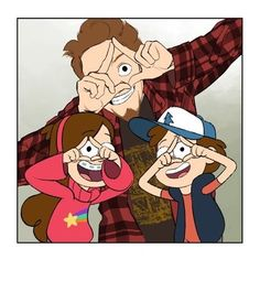 Alex Hirsch, Dipper and Mabel Pines - Gravity Falls Dipper And Mabel, Mabel Pines, Dipper Pines, Dipper And Wendy, Yandere, Anime Gravity Falls, Monster Falls, Fall Tumblr, Desenhos Gravity Falls