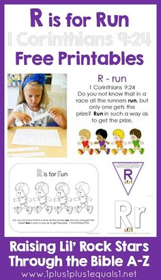 Letter R Bible Verse Printables {Raising Lil Rock Stars}