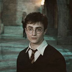 Harry Potter, Harry, movie, glasses, tie, magic, portrait, photo