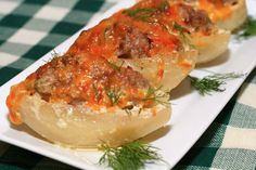 Meat and Potato Boats