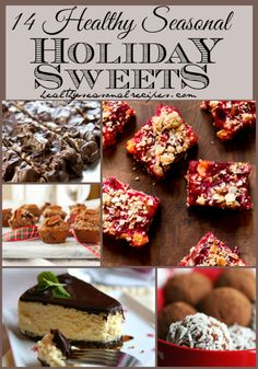 14 healthy seasonal holiday Sweets collection from @Katie Webster