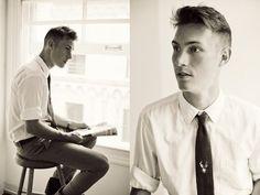 Men's hair. 1940s style.   Men's Hair and Style   Pinterest