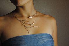 Cottonwood tree necklace