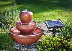 Solarbrunnen Rhodos Zierbrunnen Brunnen Springbrunnen  Gartenbrunnen NEU !!