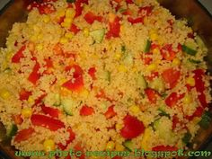 Cooking by Photo Recipes: Кускус салат / Couscous Salat