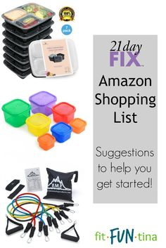 If you're new to the 21 Day Fix and looking for items that would be beneficial, here's a shopping list of my recommendations to supplement your new lifestyle journey!