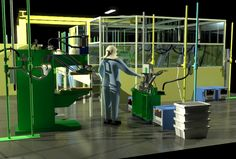 Operator spot welding