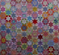 Quilts on Bastings: Hexagon Stars Quilt