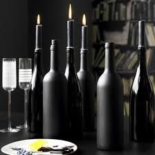 DIY Wine Bottle Centerpieces #2