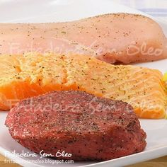 Carnes na Air Fryer Multi Cooker Recipes, Slow Cooker Recipes, Barbacoa, Air Fry Recipes, Fish And Meat, Fat Burning Foods, Meat Rolls, Everyday Food, Paleo Diet