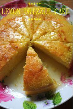 Lemon Drizzle Cake Recipe / Lighter Lemon Drizzle Cake Recipe - Yummy Tummy