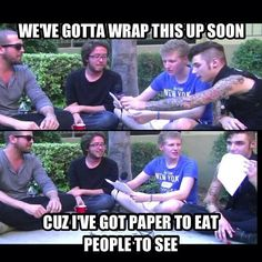 BryanStars Interviews; Black Veil Brides interview #7 ft. Joe Flanders and Patrick somethingorother