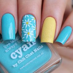 """Picture Polish """"Cyan"""" & Nail Look 31082 & MoYouLondon """"Pro Collection"""" XL 21 - nail design"""