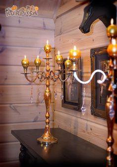 Tee se itse -kynttilänjalkojen tuunaus projekti