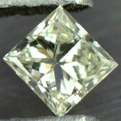 0.08 cts Natural Fancy Diamond Square Belgium Untreat $ loose gem