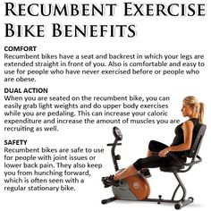 Having a recumbent bike around for exercise is a very smart thing? The answer is clear. What a recumbent exercise bike can do for you is clear. It can add benefits to Recumbent Bike Benefits, Best Recumbent Exercise Bike, Best Exercise Bike, Exercise Bike Reviews, Bicycle Workout, Recumbent Bicycle, Bike Workouts, Stationary Bike Benefits, Wellness Club