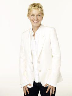 Ellen DeGeneres on Pinterest → http://pinterest.com/ellentv | She finally won me over when I no longer had the choice not to laugh!