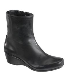 This Black Carolyn Leather Wedge Boot by Essence by Aetrex is perfect! Cheap Shopping, Wedge Ankle Boots, Leather Wedges, Chelsea Boots, Zip Ups, Fashion Shoes, Footwear, Slip On, Pairs